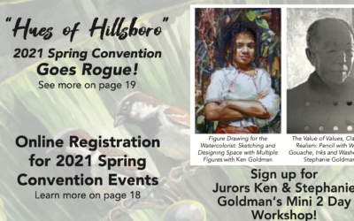 Watercolor Society Oregon Convention/Workshop  | Ken & Stephanie Goldman