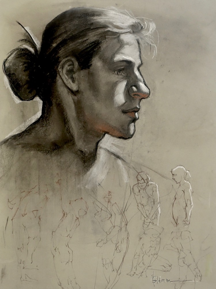 stephanie goldmanfineart_head&figure_charcoal_24x18